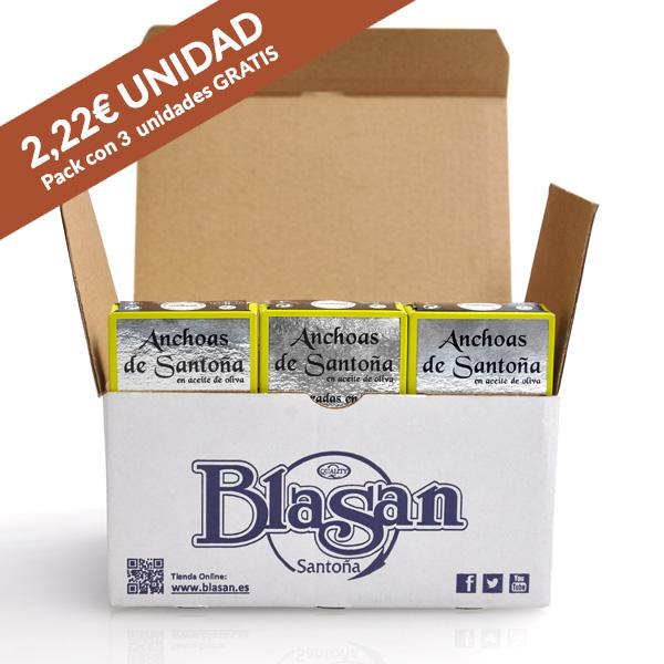Anchoas de Santoña Octavillo Promo - Conservas Blasan - Santoña