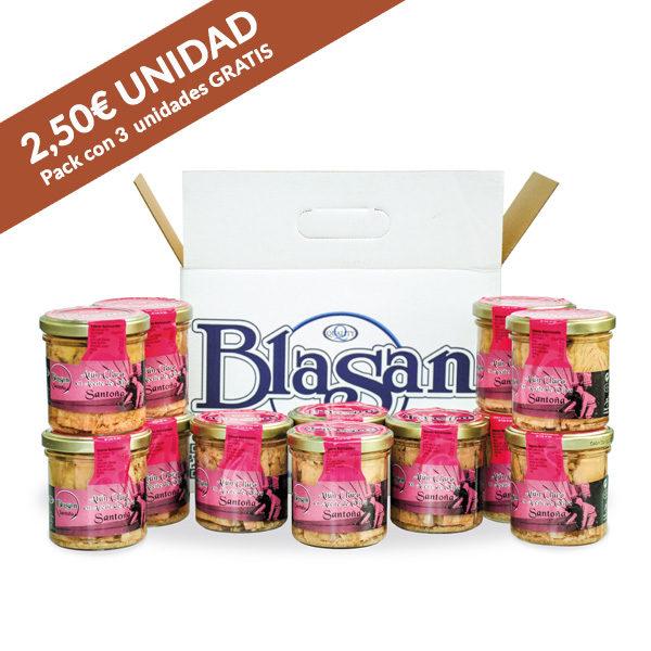 Pack atún Conservas Blasan