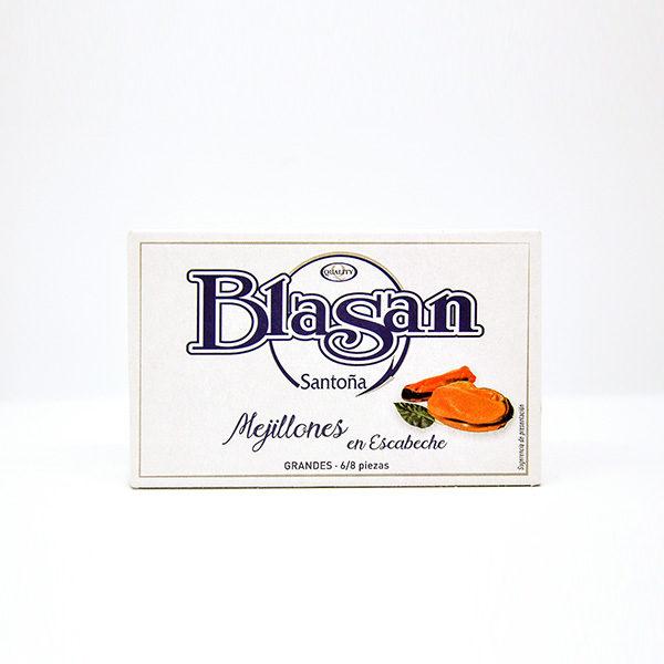 Mejillones en escabeche Blasan
